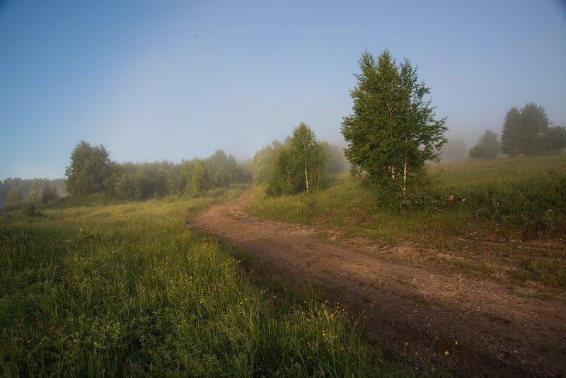 По дороге за туманом...photo preview