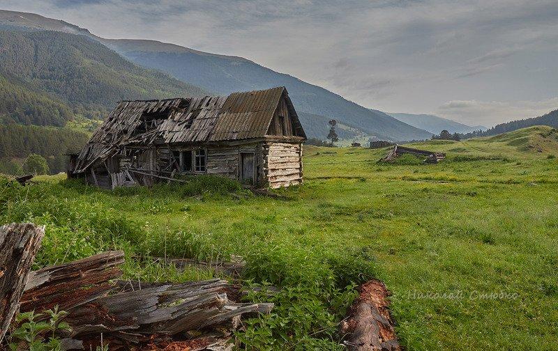 кавказ горы лето Времяphoto preview