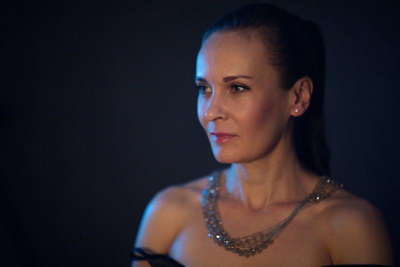 цвет, девушка, портрет TEAL&ORANGEphoto preview
