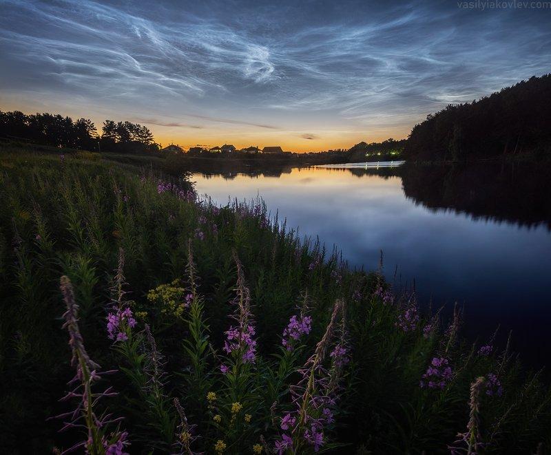 екатеринбург, ночь, яковлевфототур, фототур, василийяковлев, серебристые облака Серебристые облака фото превью