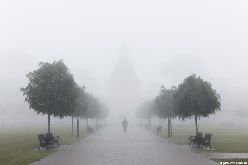 Туман в Тульском Кремлеphoto preview