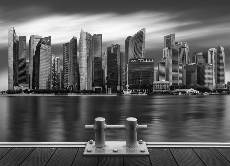 singapore, сингапур Metallic Cityphoto preview