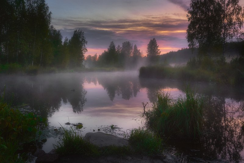 Туманный вечерphoto preview