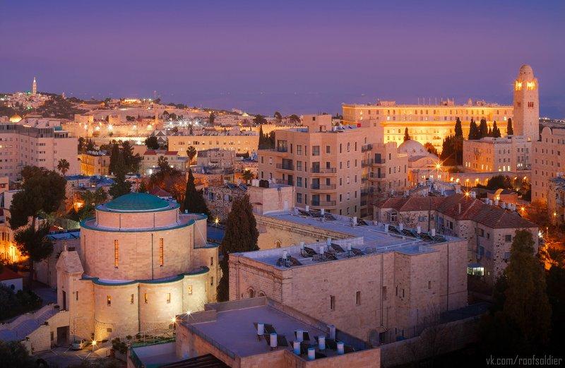 Иерусалим, Израиль, Иерусалимский камень, архитектура, церковь, синагога, иудаизм, Оливковая гора, крыша, пейзаж, город, городской пейзаж Иерусалимphoto preview