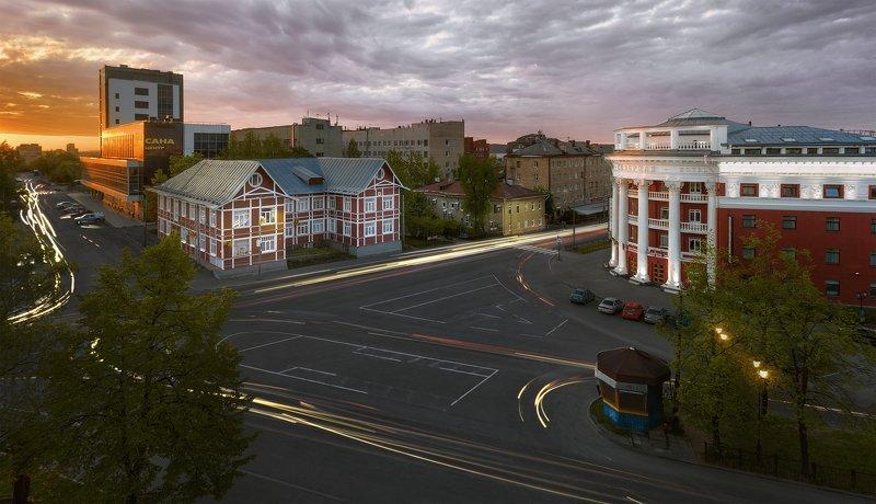 Город, пейзаж Проспект Ленина, Петрозаводскphoto preview