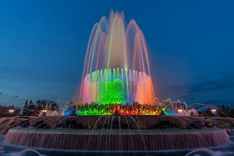 фонтан, москва, вднх, архитектура, город, вода Каменный цветокphoto preview