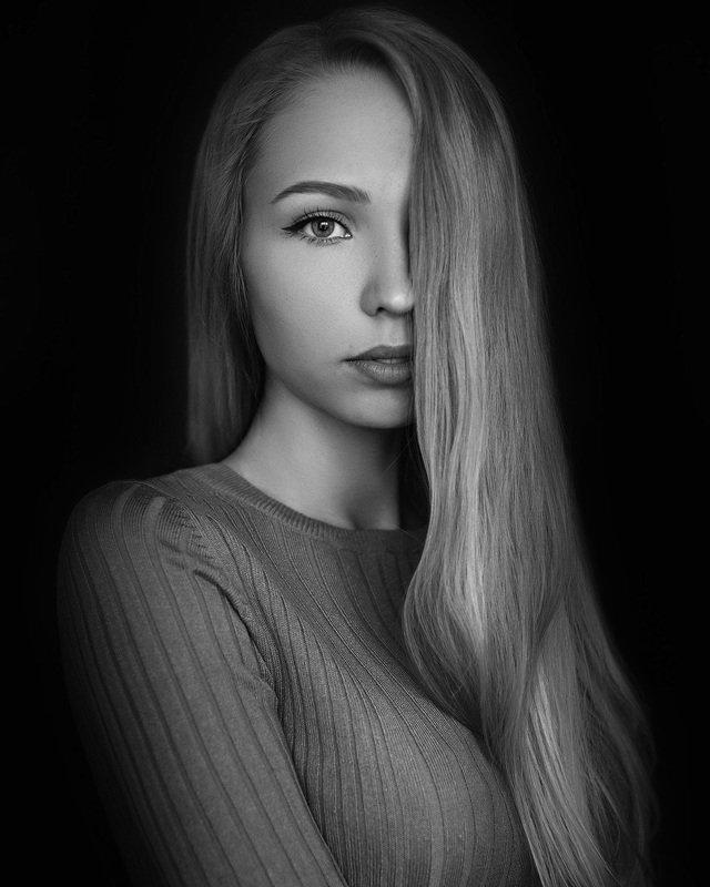 art, portrait, girl, model, арт, портрет, девушка, модель Elena фото превью
