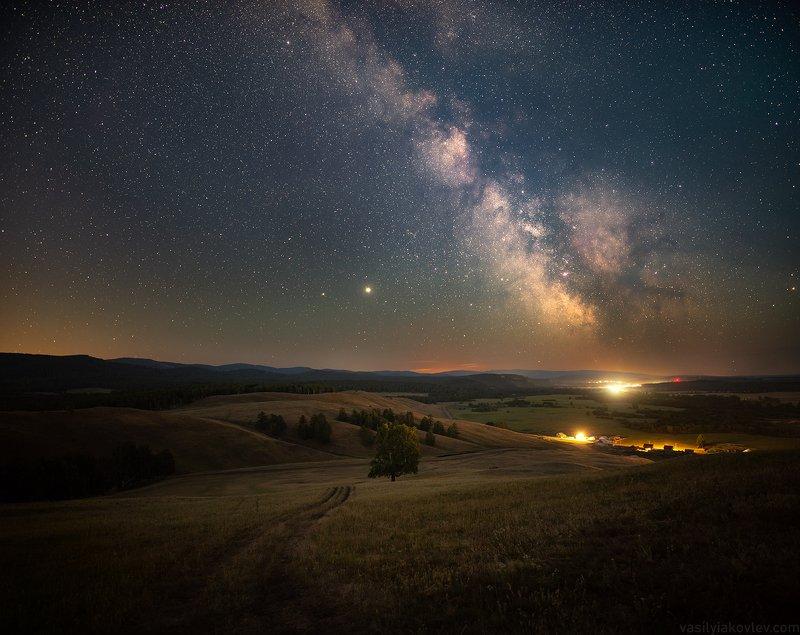 ночь, яковлевфототур, фототур, василийяковлев, млечный путь Летнее солнцестояние фото превью