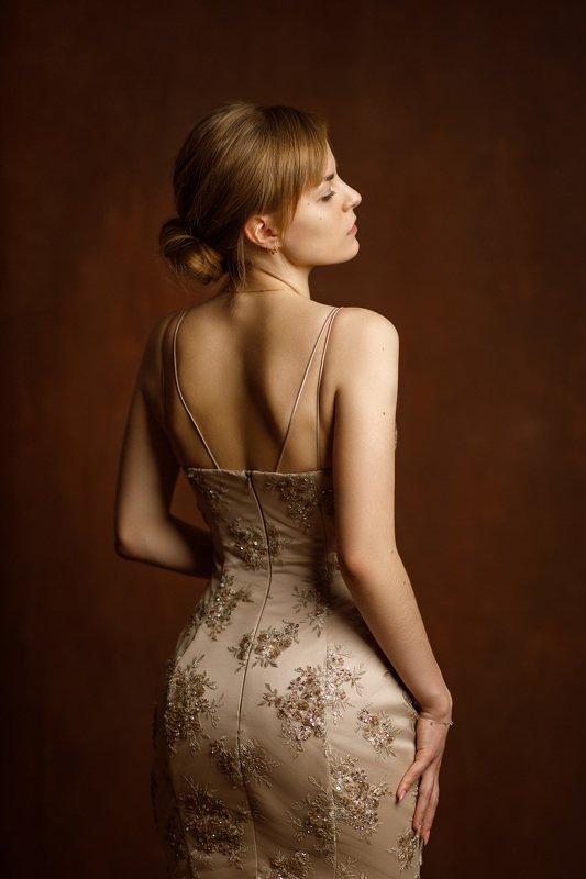девушка портрет студия платье красота Annaphoto preview