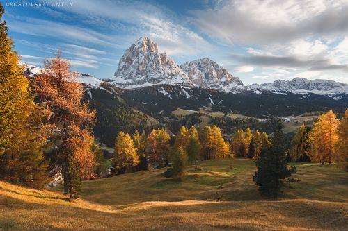 Gold of Dolomites | Золото Доломитовых альп