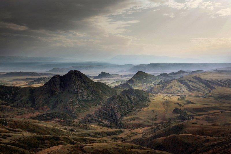 горы,вершины,пейзаж,небо,деревья,дагестан,природа Горный ландшафт..photo preview