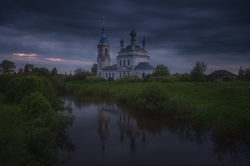 Мрачный вечер в Савинскомphoto preview