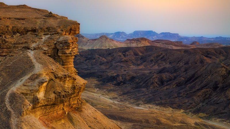 израиль, арава, рассвет, горы, небо, пейзаж, природа, пустыня Арава, рассветphoto preview
