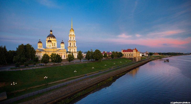Рыбинск. Спасо-Преображенского собор.photo preview