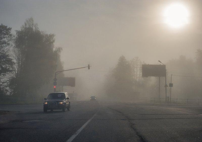 Майский туман фото превью