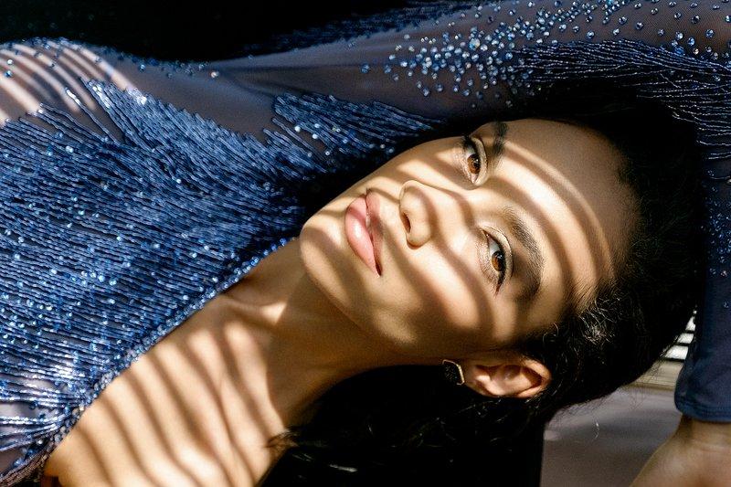 fujifilm, x-t1, girl, beautiful, sunlight, Blue dressphoto preview