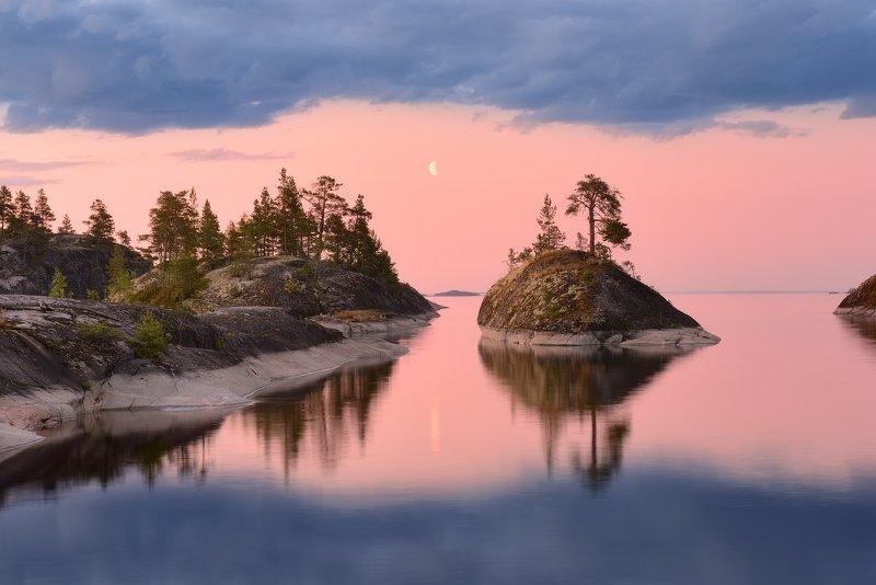 Лунная Ладожская ночь...photo preview