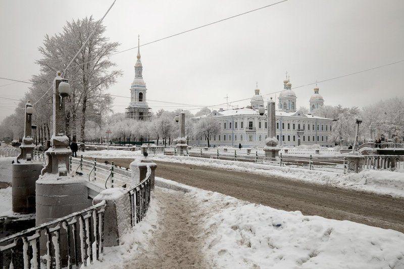 Зимний городphoto preview