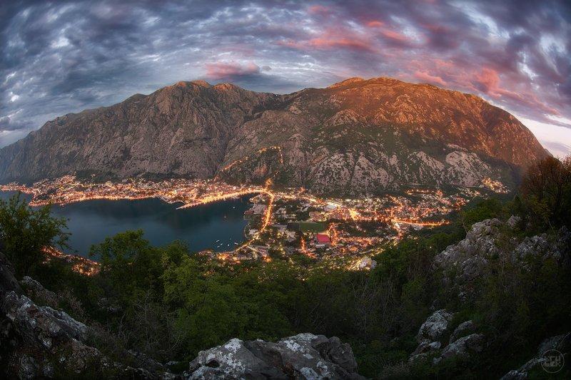 черногория, пейзаж, горы Волшебный Которphoto preview