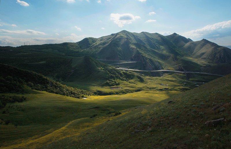 перевал,горы,дагестан, Горный перевал..photo preview