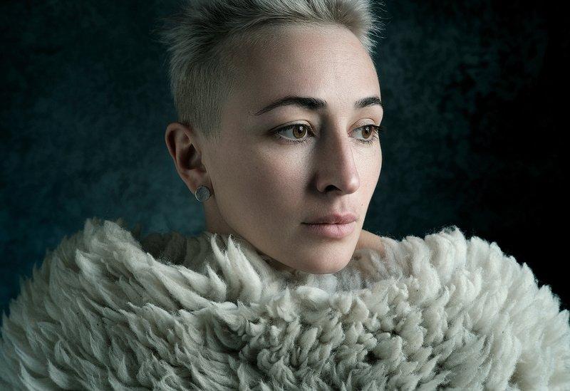 студия, портрет, fujifilm, natural light, Стася в Артмиксphoto preview