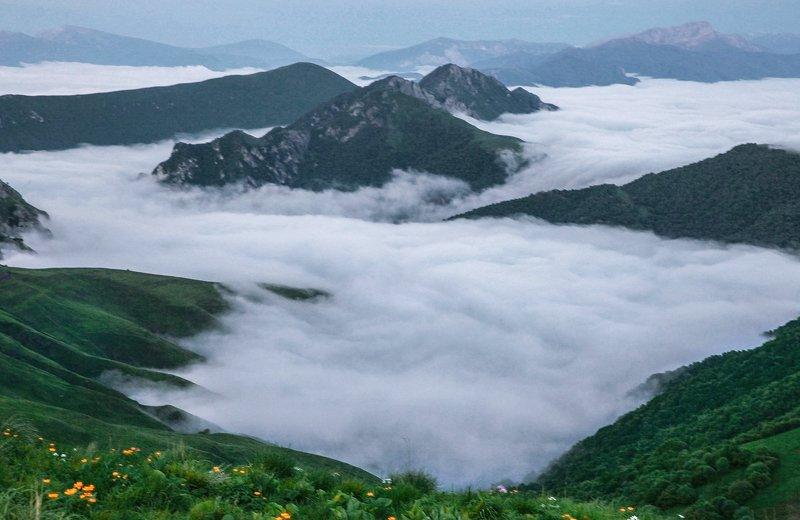 Горный пейзаж..photo preview