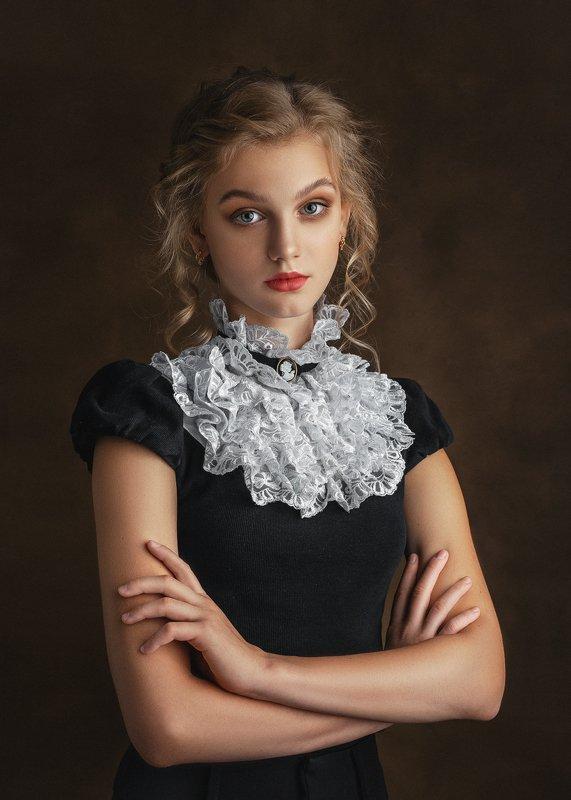 портрет, студия, артпортрет, модель Polinaphoto preview