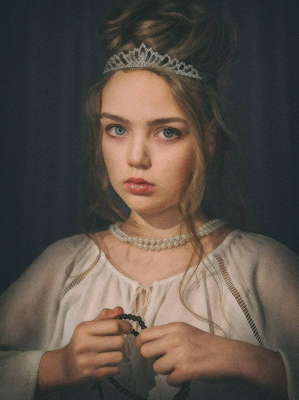 fine art, стилизация, портрет, классика Принцессаphoto preview