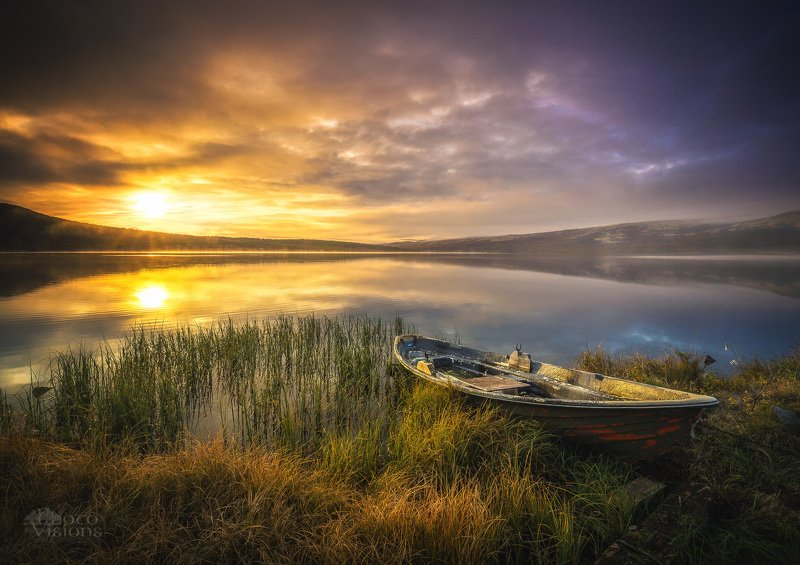 norway,lake,boat,norwegian,dovre,dovrefjell Peaceful placephoto preview