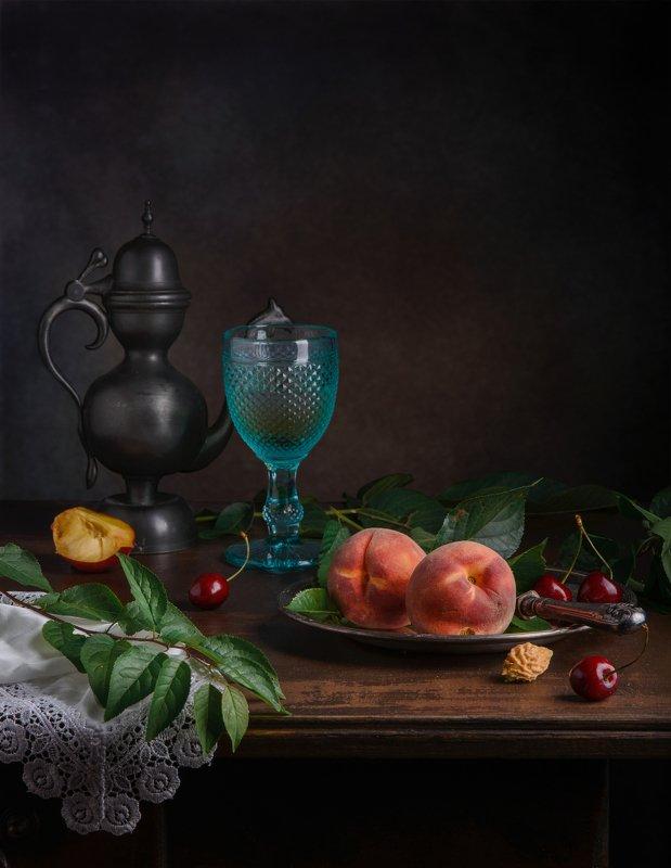 О персиках и бокалеphoto preview