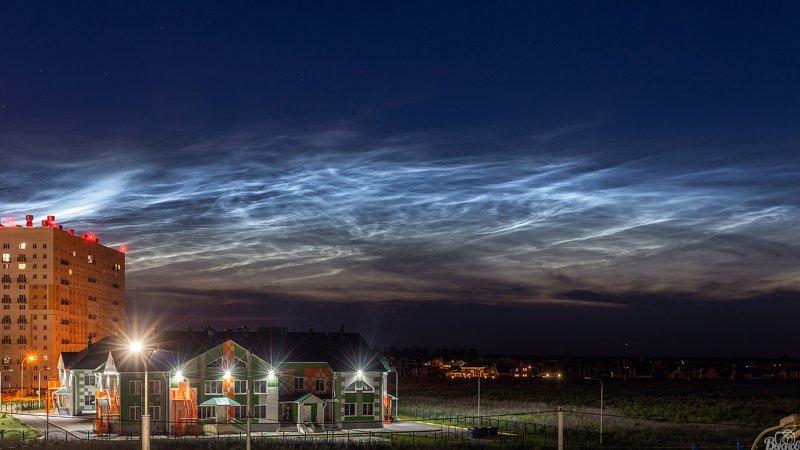 тамбов, серебристые облака, агапкина Серебристые облакаphoto preview