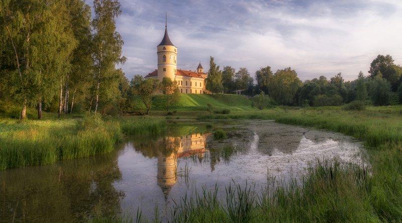 павловск, лето, вечер, мариенталь Павловск. Мариенталь.photo preview