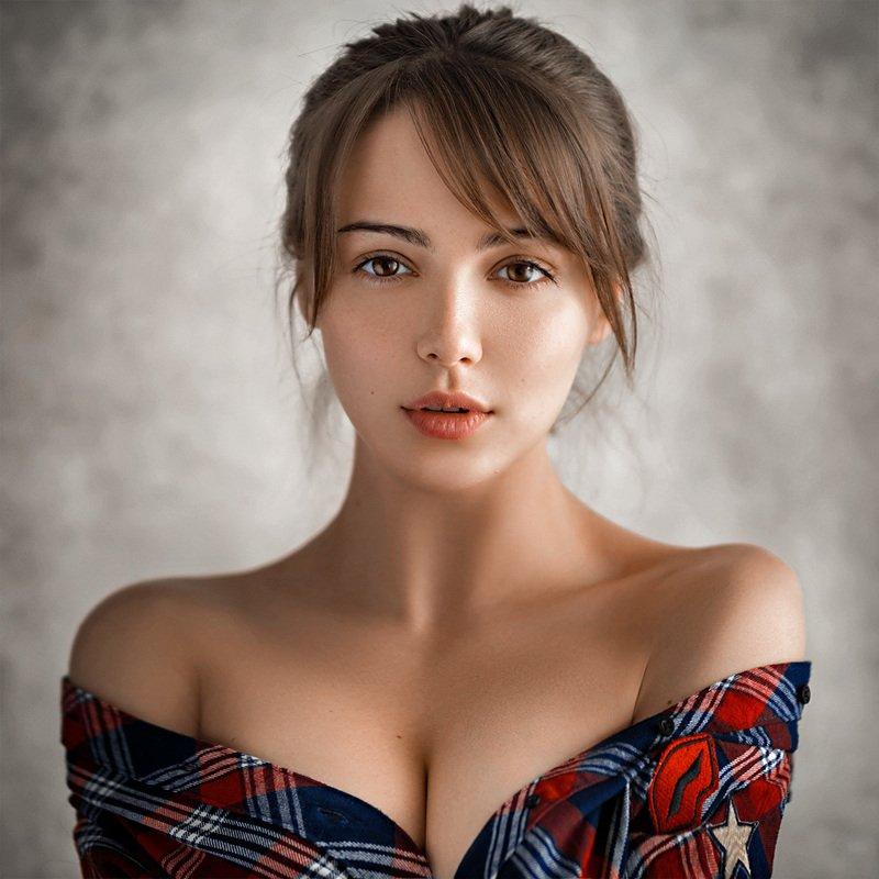 art, portrait, girl, model, арт, портрет, девушка, модель Lera фото превью