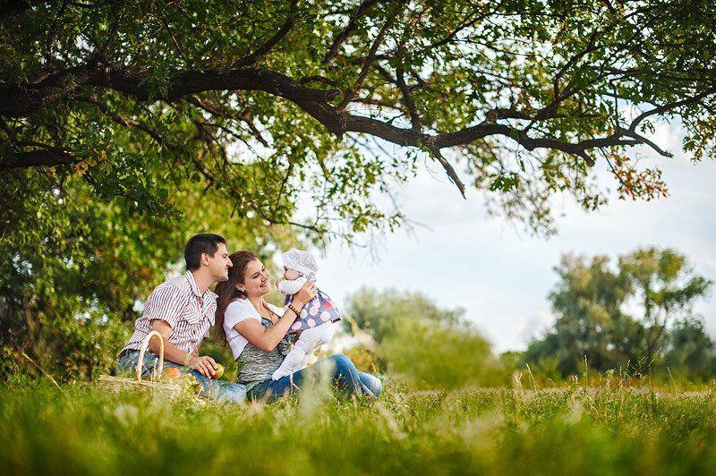 Семейный фотосет .photo preview