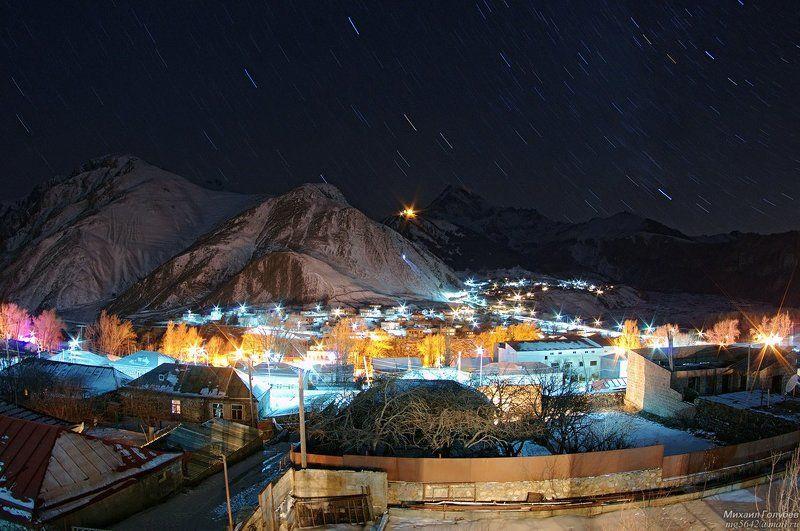 Ночное Казбегиphoto preview