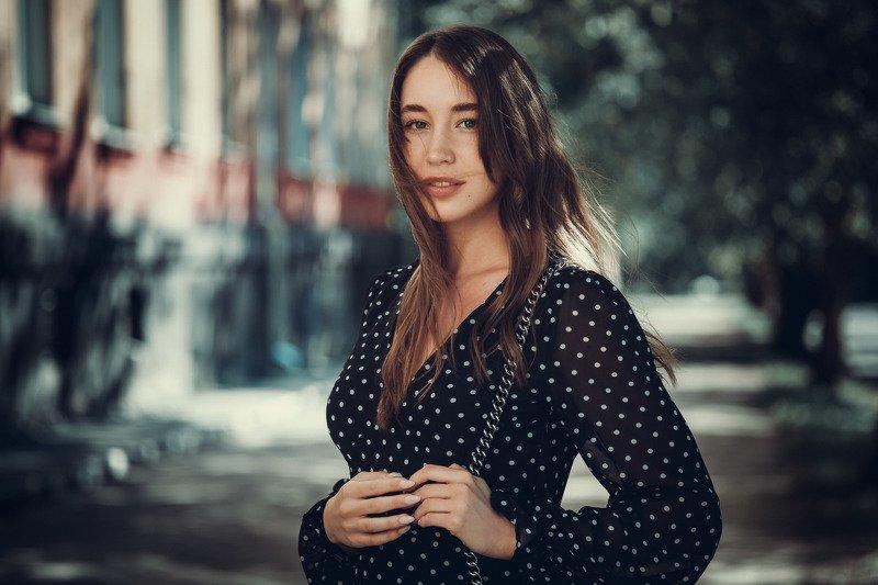 девушка, портрет, лето Юляphoto preview