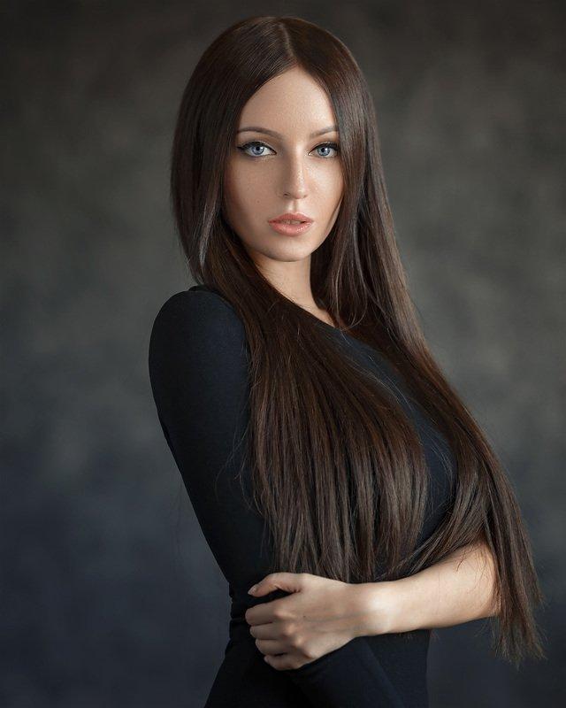 art, portrait, girl, model, арт, портрет, девушка, модель Anastasia фото превью