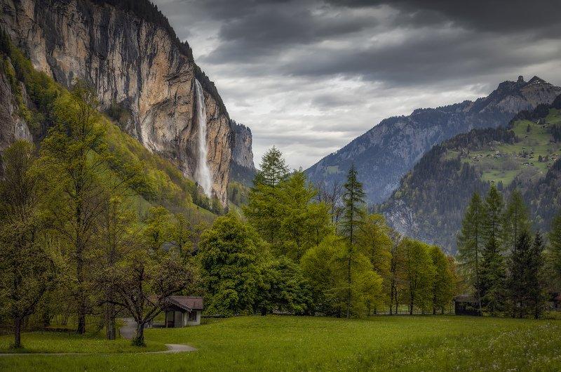 горы, водопад дышаphoto preview