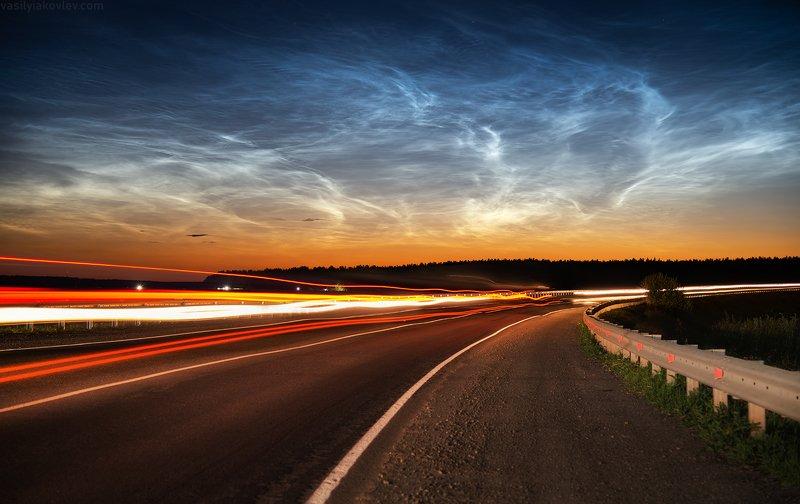екатеринбург, ночь, яковлевфототур, фототур, василийяковлев, серебристые облака Серебристые облака 12.07.2020photo preview
