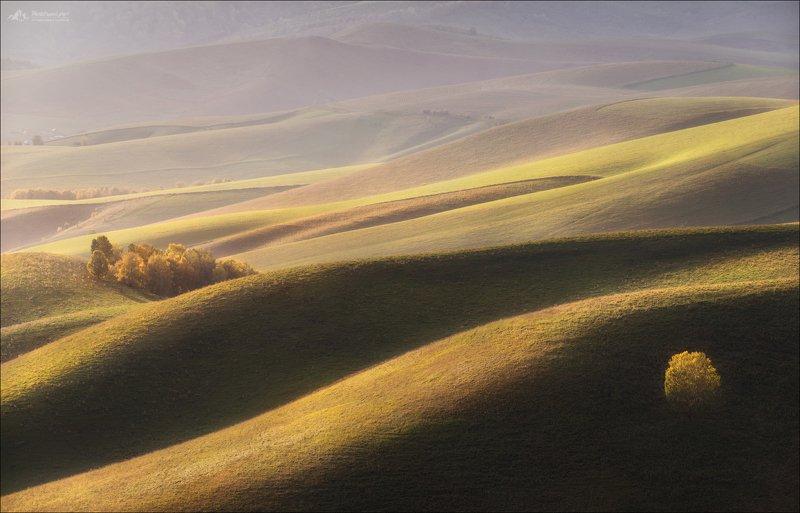 Алтай, Алтайский край, Семинский хребет, осень Тоскана Сибирская Тосканаphoto preview