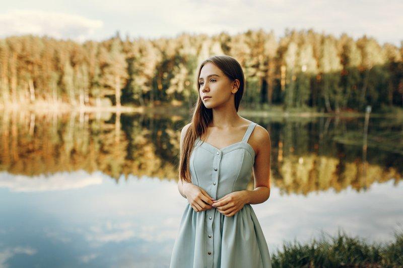 portrait, nature,russian girl, model Daryaphoto preview