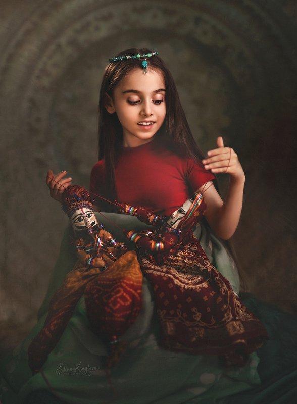 Индия дети игра портрет Индийские мотивыphoto preview