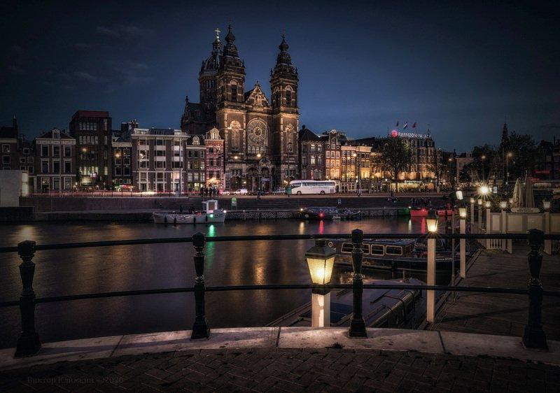 амстердам, амстел, канал, amsterdam, niderland Амстердамphoto preview