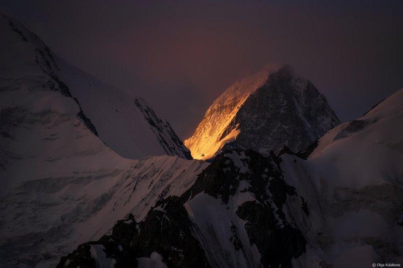 тянь-шань, горы, рассвет, хан-тенгри Хан-Тенгриphoto preview