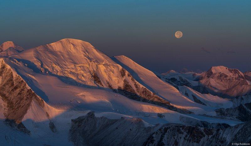 тянь-шань, горы, рассвет ***photo preview