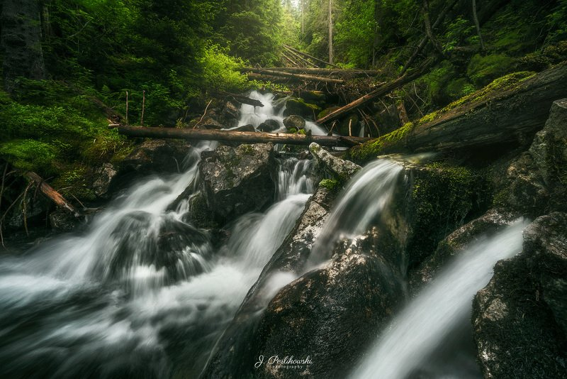 tatra mountains, tatras, tatry, creek, waterfall, water, river, mountain, Tatras creekphoto preview