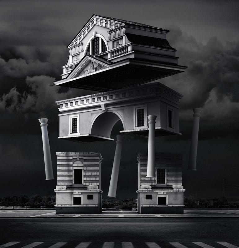 Московские Триумфальные воротаphoto preview