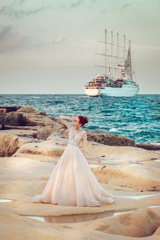 woman, beauty, fashion, art, outdoors Let your dreams set sailphoto preview