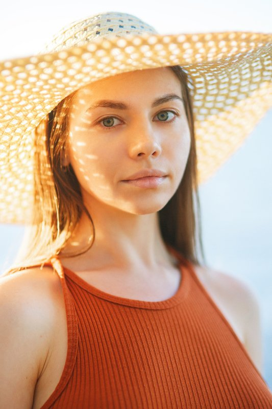 portrait,nature, model, russian girl, sunset Olgaaphoto preview