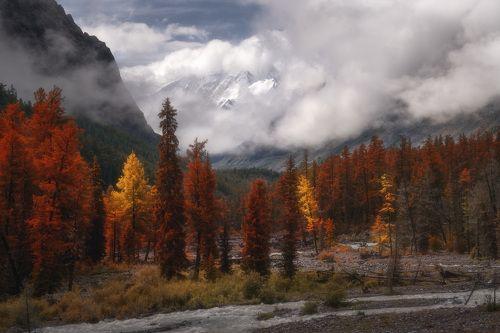 Осень в долине Мажой
